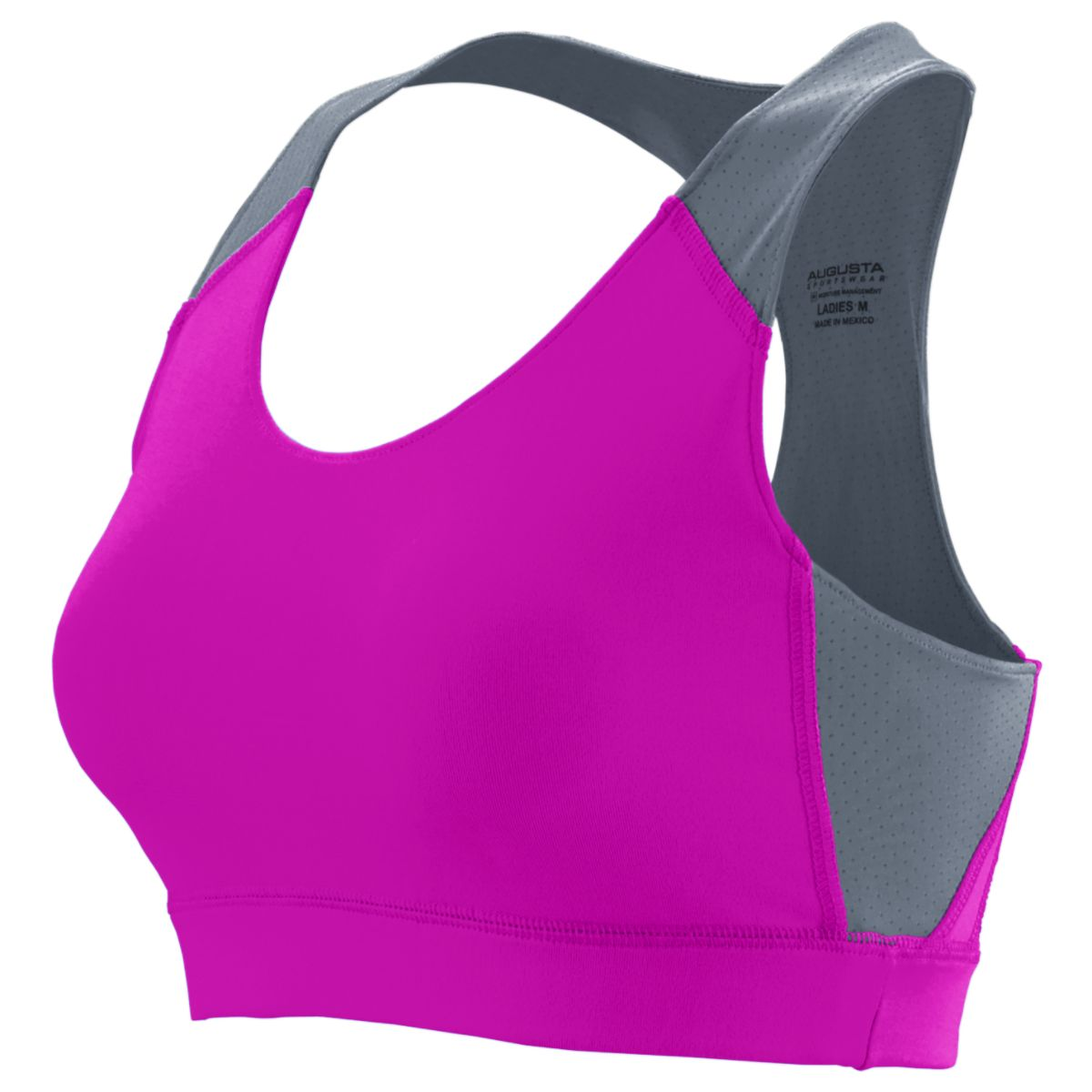 Girls All Sport Sports Bra POWER PINK/GRAPHITE L