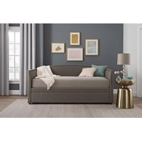 Better Homes & Gardens Grayson Daybed & Trundle, Twin Size, Gray Linen