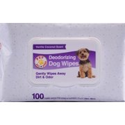 Pet All Star Deodorizing Dog Wipes