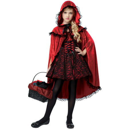 Red Riding Hood Child Halloween Costume](Hooded Huntress Child Costume)