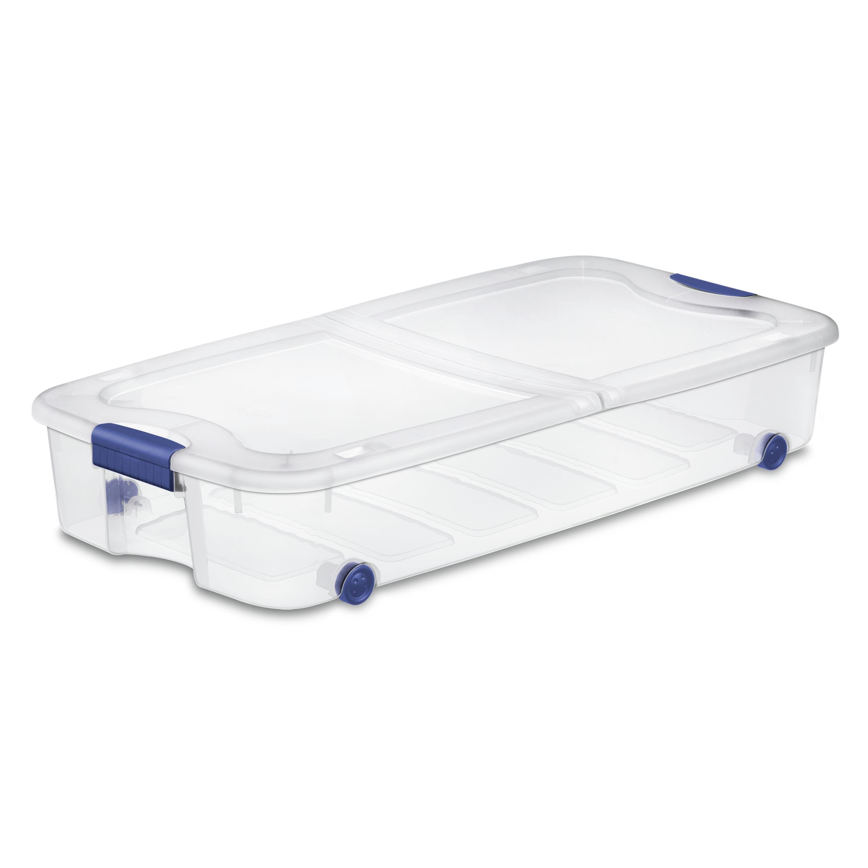 Sterilite 66 Quart Stadium Blue Ultra Storage Box