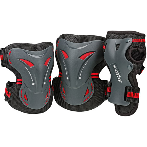 Tarmac Knee/Wrist/Elbow Guards Tri Pack, Adult