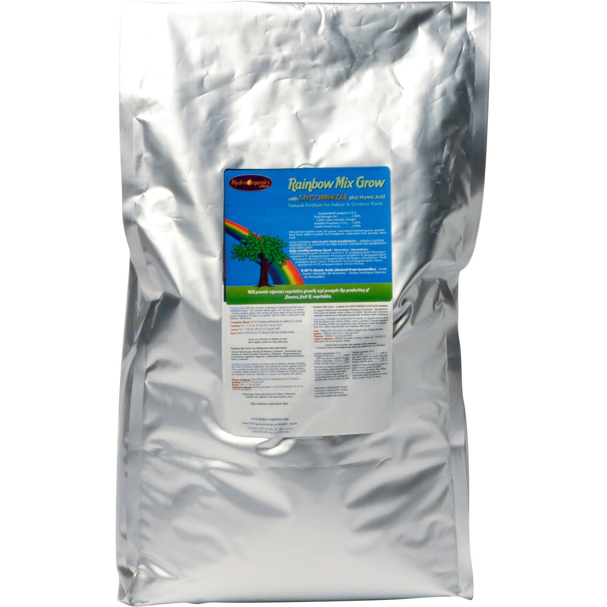 Earth Juice Rainbow Mix Pro Grow Plant Food Nutrients, 40 lbs