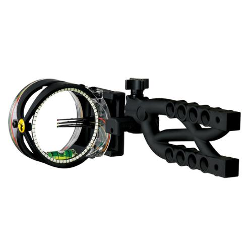Trophy Ridge  Cypher Bow Sight 3 Pin .019 Black - AS603