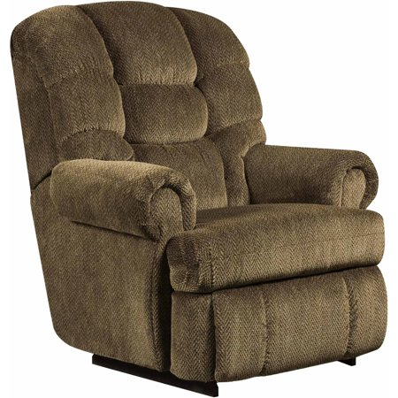 Flash Furniture Big And Tall 350 Lb Capacity Gazette Microfiber Recliner  Multiple Colors