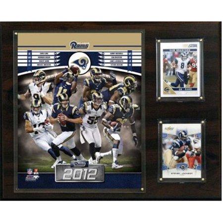 C & I Collectables 1215RAMS12 NFL St. Louis Rams 2012 Plaque d'-quipe - image 1 de 1
