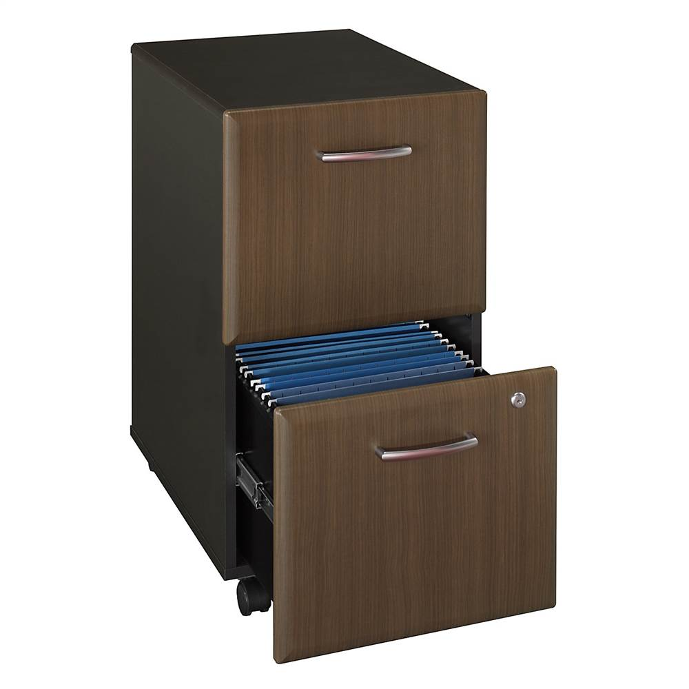 Two Drawer File Cabinet w Double Lock - Series A - Walmart.com