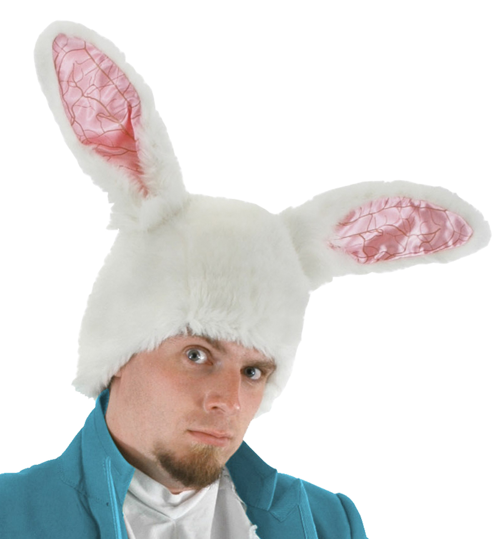 Disney Alice in Wonderland White Rabbit Hat Adult Accessory