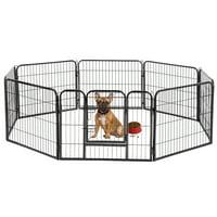 "BestPet 24""H Hammigrid 8 Panel Heavy Duty Pet Playpen Dog Exercise Pen"