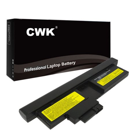 CWK Long Life Replacement Laptop Notebook Battery for IBM Lenovo ThinkPad 42T4564 43R9257 FRU 42T4657 42T4658 ThinkPad X201t Tablet X200 (43R9257) X200 Tablet X200 Tablet Series