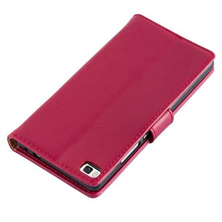 Cadorabo Case for Huawei P8 cover - with Magnetic Closure, Stand Function and Card Slot - image 2 de 5