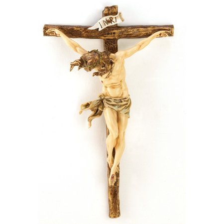 (Classic Renaissance Crucifix Jesus on Cross Christian Wall Decor, Exquisite rendition of Jesus on the Cross By Gifts & Decor)