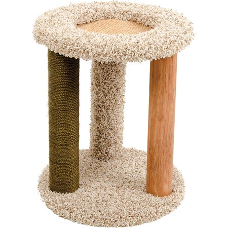 Ware Mfg. Inc. Dog/cat-Kitty Carpet Playground-n-lounge- Natural 16x16x20 Inch (Kitty Playground)