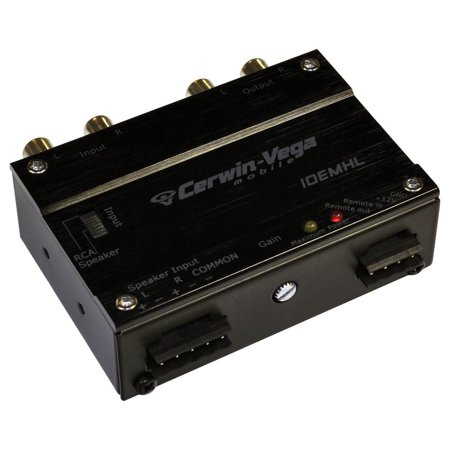 Cerwin Vega 2 Channel Line Output Converter with Line Driver 2 Channel Line Driver