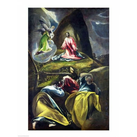 Christ In The Garden Of Olives Poster Print By El Greco
