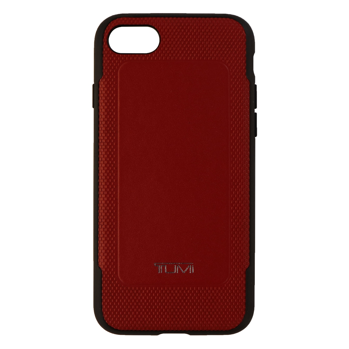 TUMI Leather Co-Mold Case for iPhone 7 - Red Leather
