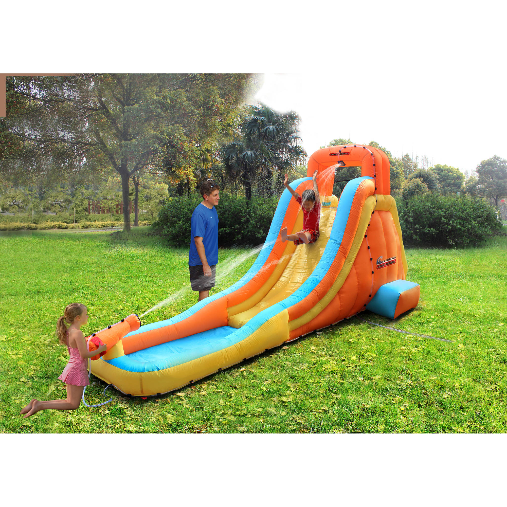 Backyard Waterslide waterslides - walmart