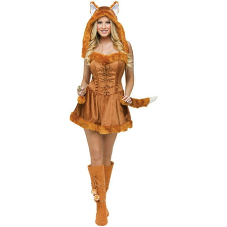 Foxy Lady Adult Halloween - Foxy Lady Costume