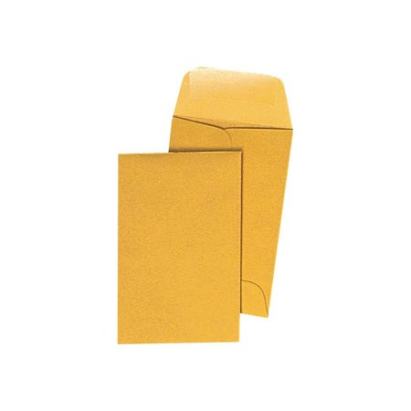 Currency Envelope (Staples Gummed Currency Envelopes 3 1/2