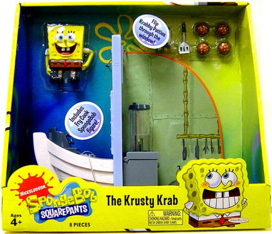 Spongebob Squarepants The Krusty Krab Playset by
