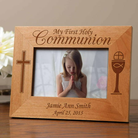 Personalized First Communion Gift Frame - Communion Gift For Boy