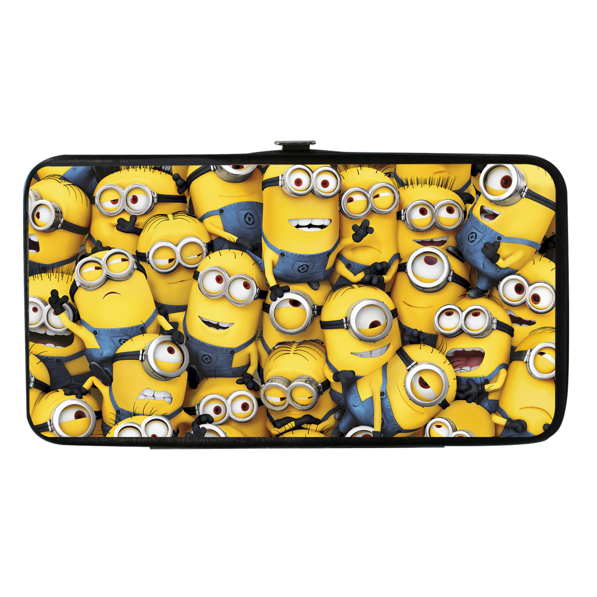 Buckle Down  Kids Despicable Me Minion Hinged Card Case Wallet,