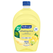 Softsoap Liquid Hand Soap Refill, Refreshing Citrus - 50 Fluid Ounce