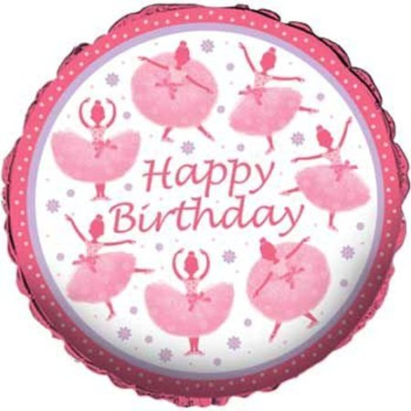 Happy Birthday Tutu (Lot of 12 Happy Birthday Dancing Ballerina Tutu 18