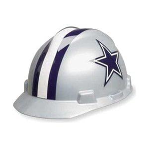 NFL Hard Hat, Dallas Cowboys, Gray/Blue, By MSA