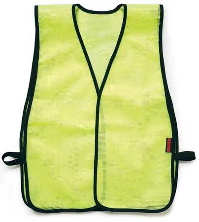 ML KISHIGO PL Hi Vis Vest, Unrated, Universal, Lime