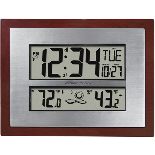 Better Homes and Gardens Atomic Clock with Forecast by La Crosse Technology Ltd.