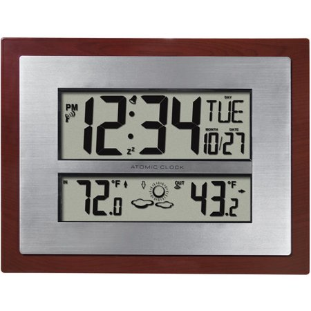 better homes and gardens atomic clock with forecast - Better Homes And Gardens Digital