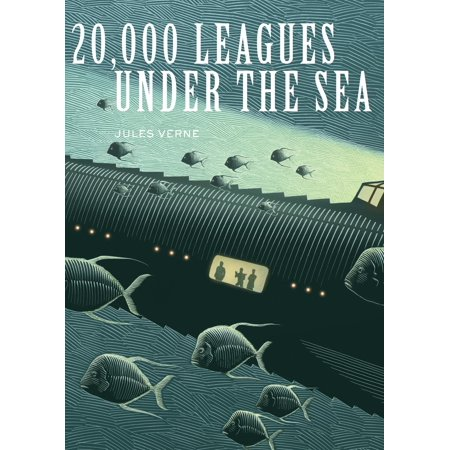20,000 Leagues Under the Sea - eBook - Under The Sea Font