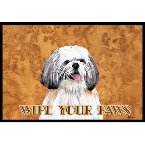 Caroline's Treasures SC9128JMAT Shih Tzu Indoor or Outdoor Doormat, 24 x 36, Multicolor