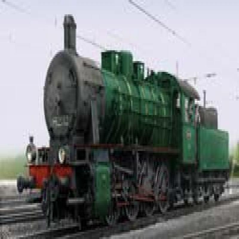2000Q4 DIGITAL FREIGHT STEAM LOCO W/TENDER CL 81 NMBS/SNCB (E) - Discontinued