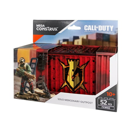 Mega Construx Call Of Duty Solo Mercenary Outpost Building (Solo Building)
