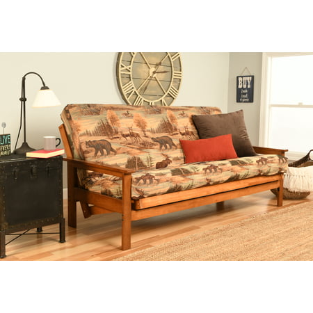 Image of Albany Futon in Barbados Finish, Multiple Colors