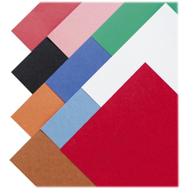 "SunWorks Construction Paper - Multipurpose - 9"" x 12"" - 50 / Pack - Assorted"