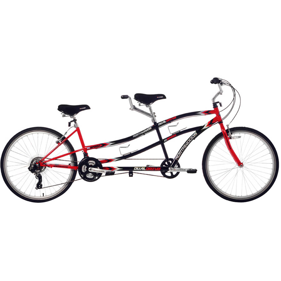 "26"" Northwoods 21-Speed Dual Drive Tandem Bike"