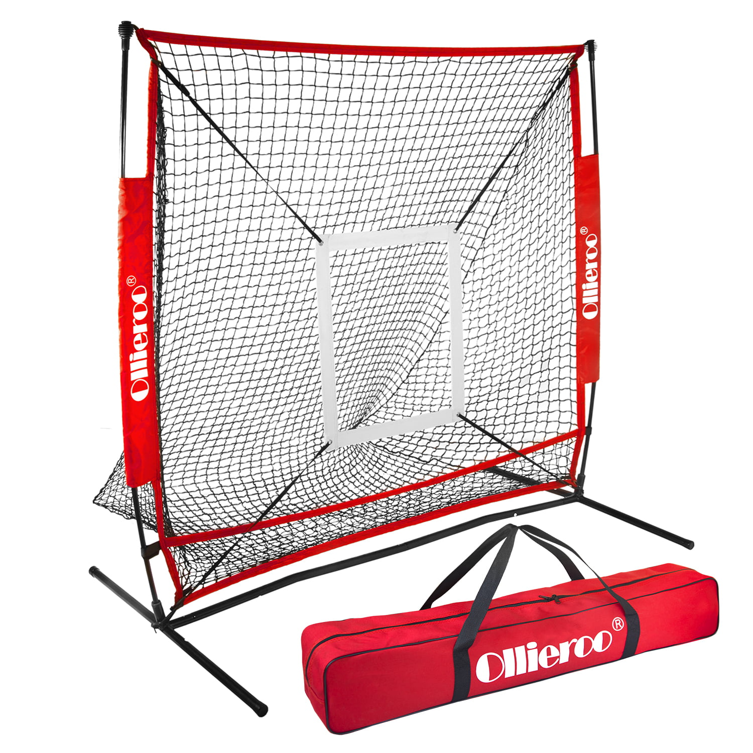 5 x 5 Ft Baseball Softball For Hitting and Pitching Practice Net Outdoor Sport