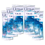 Ultima T.K.O. Chlorinating Shock Treatment for Swimming Pools, 6 Pack