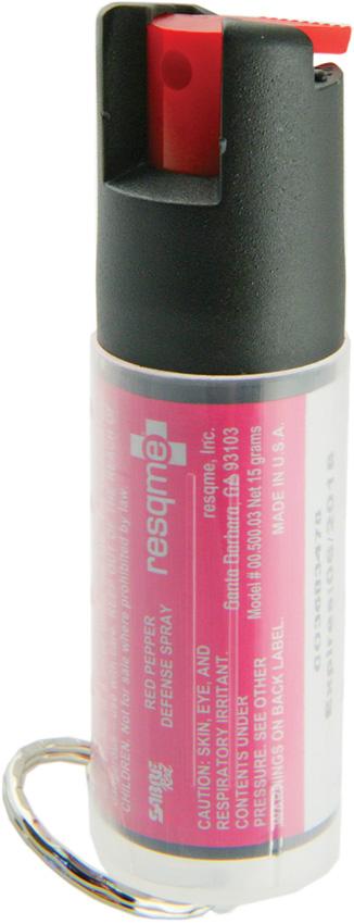 Resqme LH15003PK ProtectMe Pepper Spray UV Marking Dye Pink Casing by Resqme