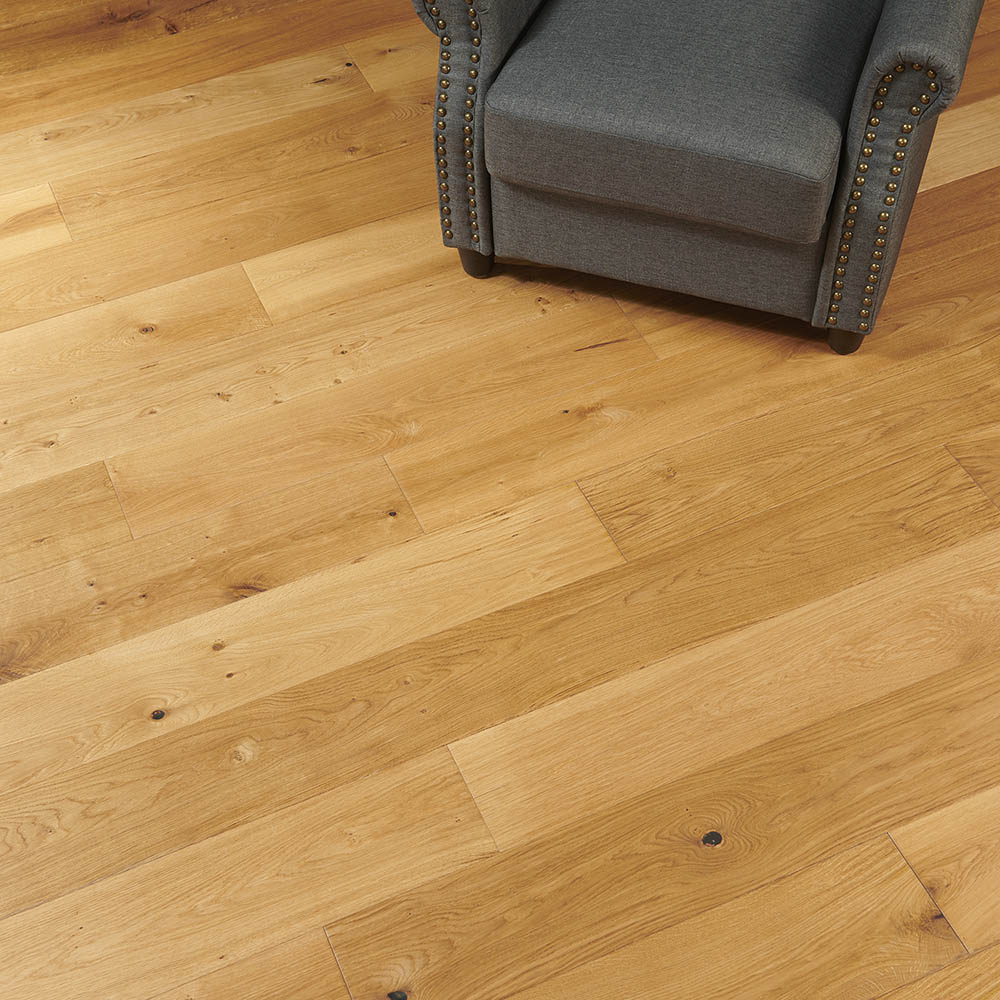 Flooors by LTL Tuscan Oak 19/32 in. Thick x 8-21/32 in. Wide x 86-39/64 in. Length Engineered Hardwood Flooring