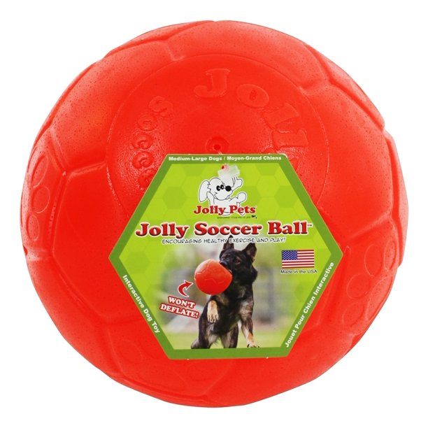 Jolly Pets - Jolly Soccer Ball 8 Inch Assorted Colors - Walmart ...