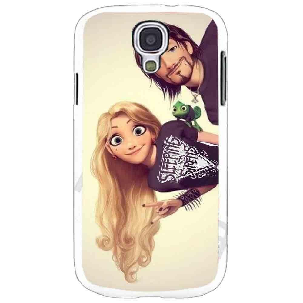 Ganma Tangled Rapunzel Punk Case For Samsung Galaxy Case (Case For Samsung Galaxy S6 White)