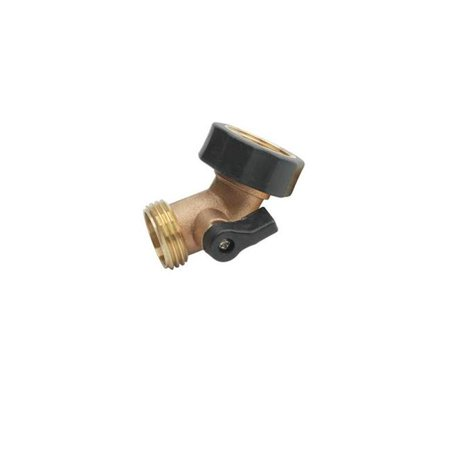 Brass Swivel Gooseneck (TekSupply 112091 Brass Gooseneck Swivel w/Shut Off)