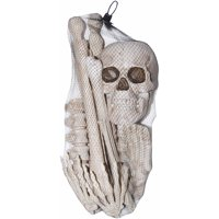 12-Piece Bag Of Bones Halloween Decoration