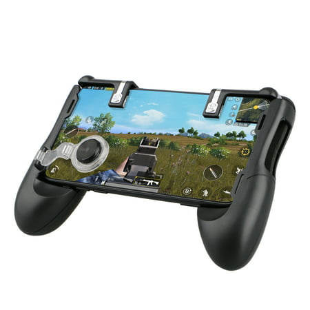 TSV Gaming Joystick Handle Holder Controller Mobile Phone Grip+Shooter For