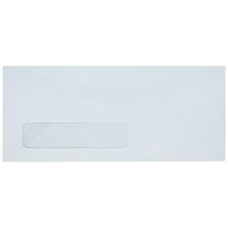 #10 White Left Window Envelopes - Size 4 1/8 X 9 1/2 - 24lb. - 100 Envelopes - Superfine Inc. (Envelope Sizes Envelopes)