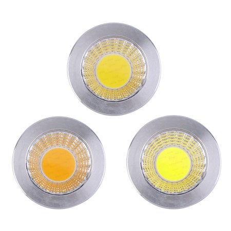 5Pcs Mr16 9W Aluminum Cob Led Light Spotlight Lamp Energy Saving Bulb 12V
